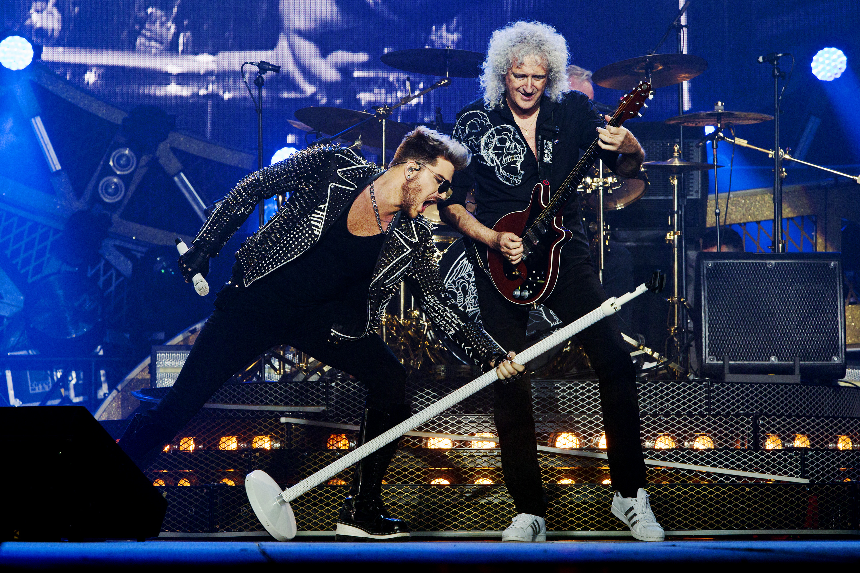 Watch The Queen + Adam Lambert Story Monday, April 29 8|7c