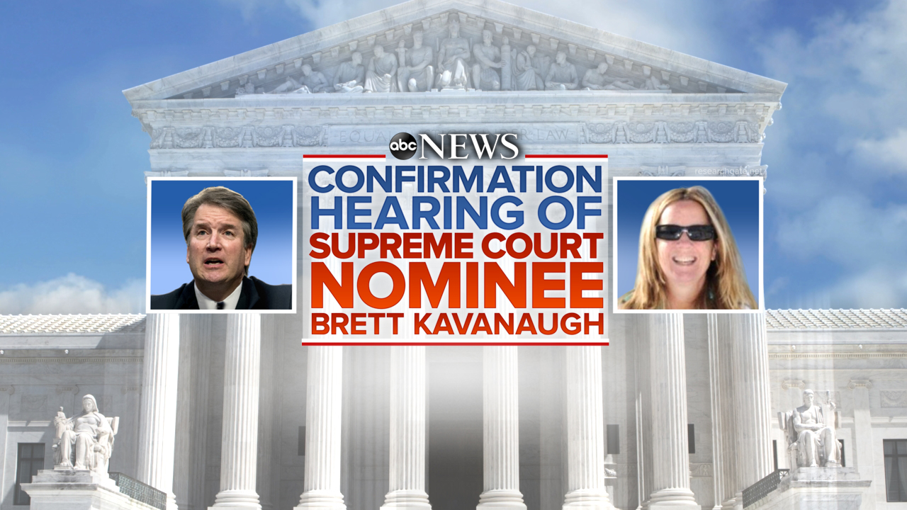 abc special coverage of judge brett kavanaugh and professor blasey