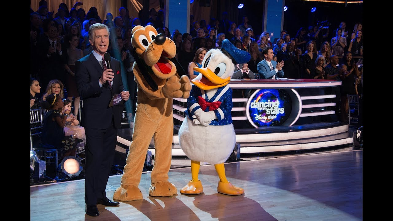 dancing with the stars celebrates disney night monday october 22