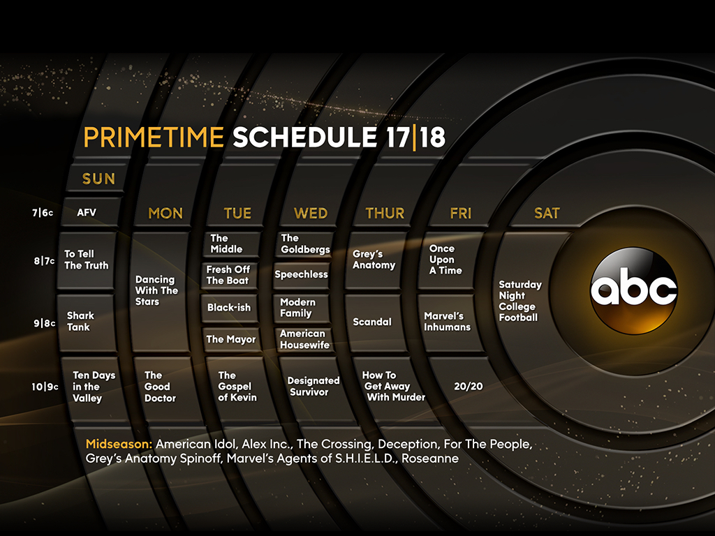 Tv show premiere dates
