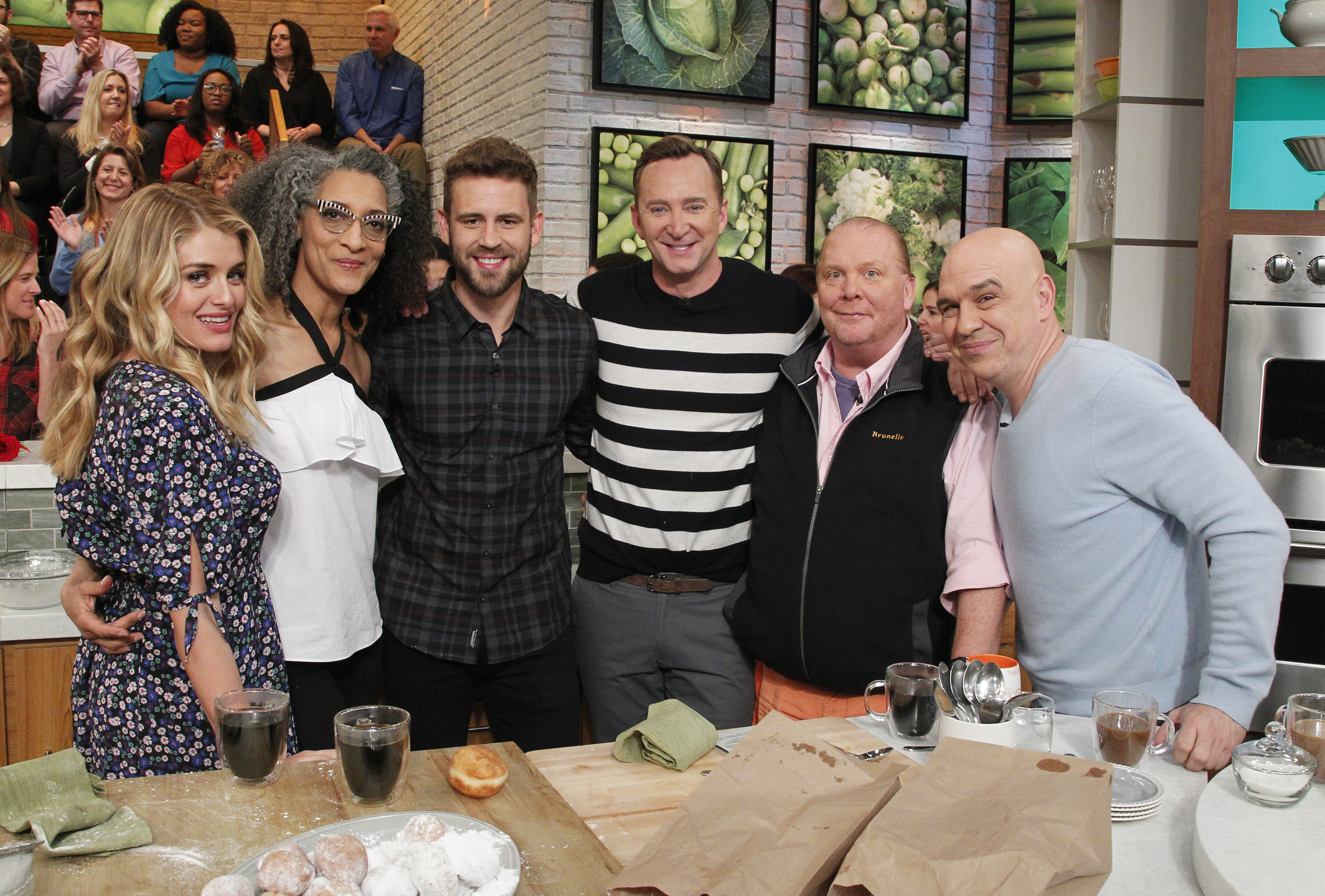The Chew nick viall dishes and tells all in the chew interview | the chew