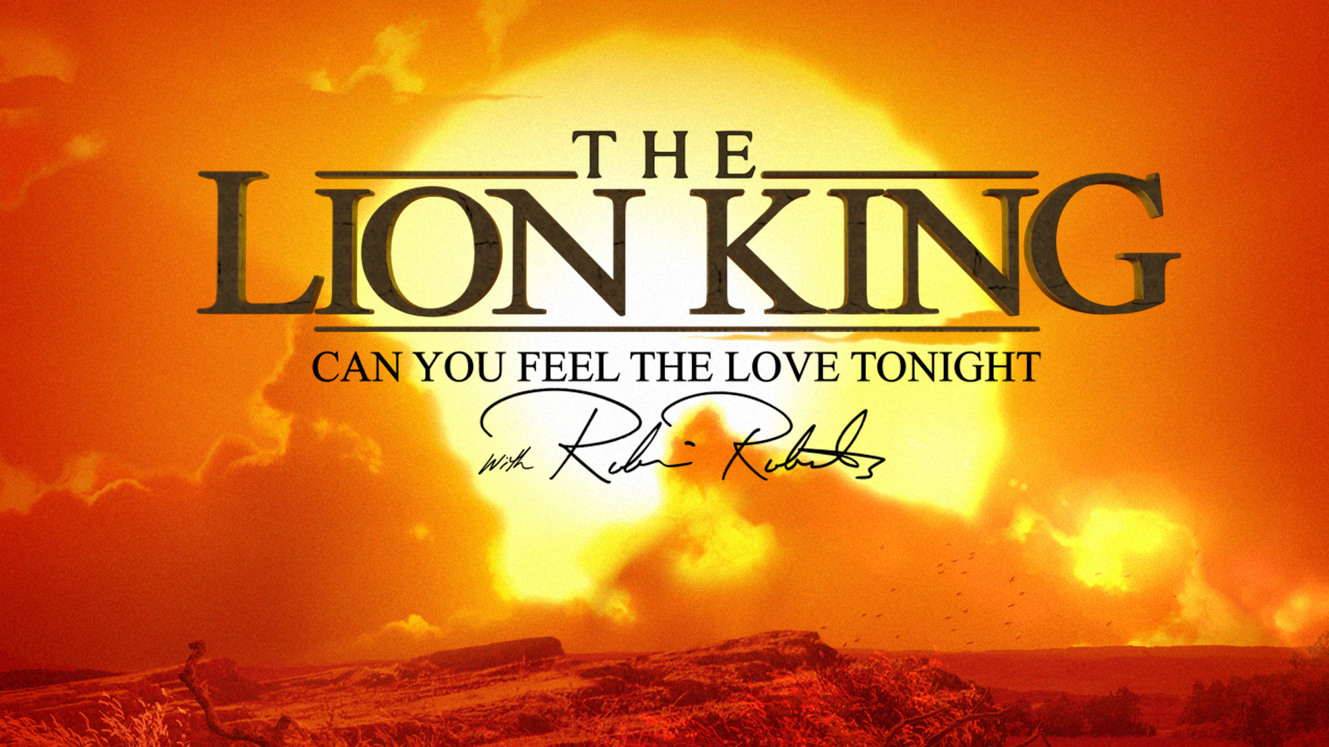 Watch The Lion King Robin Roberts Special Tuesday July 16 Abc Updates