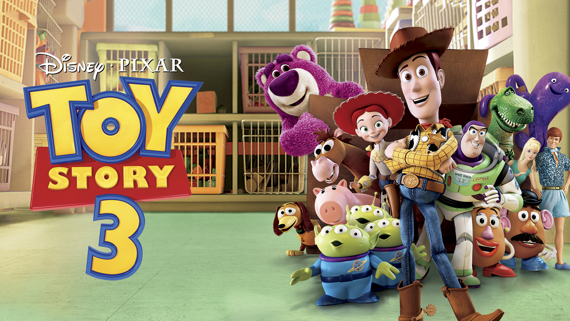 ... online free! The cast of characters includes returning favorites Woody  (Tom Hanks) and Buzz Lightyear (Tim Allen) as well as new faces  Lots-o'-Huggin' ...